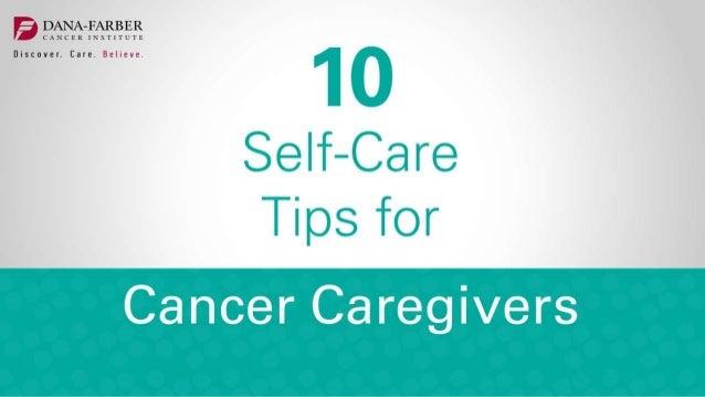 http://blog.dana-farber.org/insight/2016/04/support-group-provides- lifeline-for-cancer-caregiver/ http://blog.dana-farber...