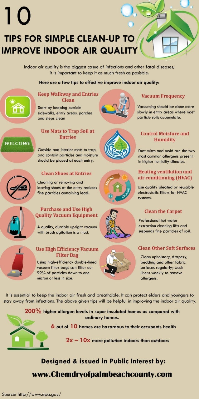 10 tips for simple clean up to improve indoor air quality for Tips for going minimalist