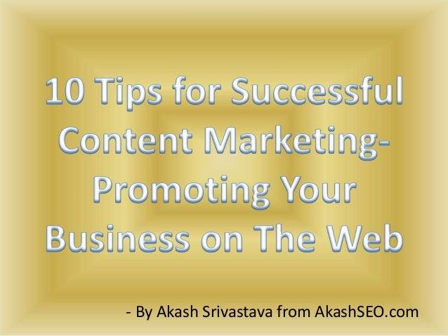 - By Akash Srivastava from AkashSEO.com