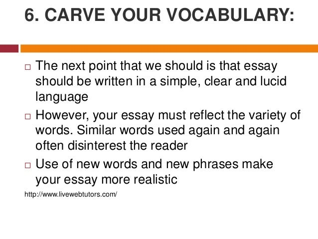 7 effective essay tips about