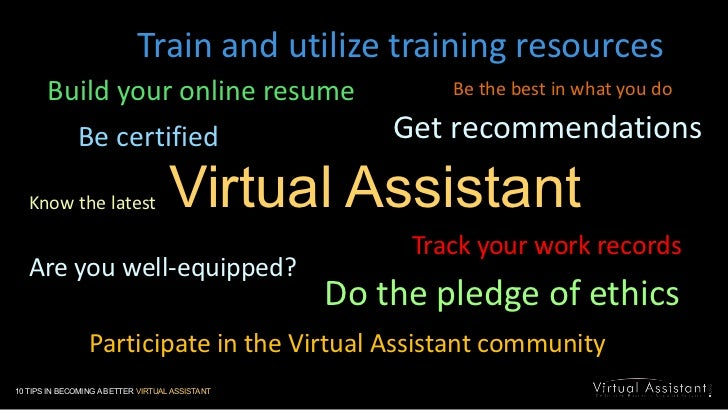 Train and utilize training resources<br />Build your online resume<br />Be the best in what you do<br />Get recommendation...