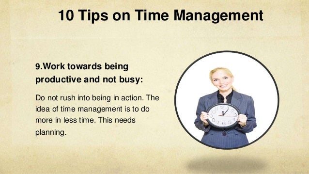 10 Powerful Tips for Time Management