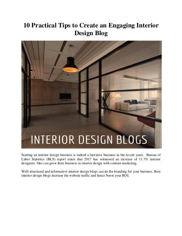 10 tips to creating an engaging interior design blog rh slideshare net