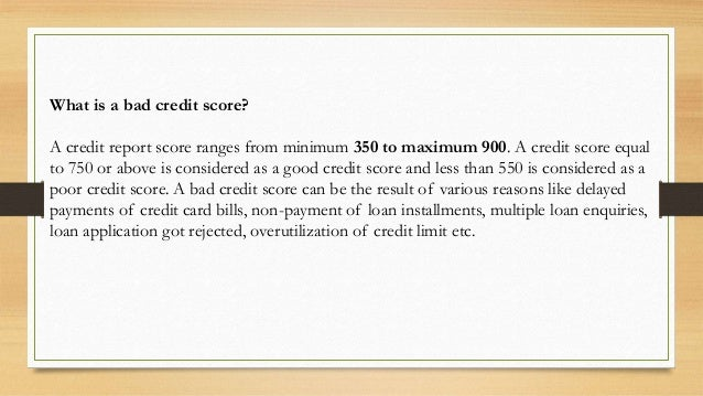 Personal Loan Credit Score 550 >> 10 Tips To Get Personal Loans With Bad Credit Score