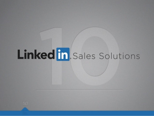 Visit the LinkedIn Sales Blog Click here