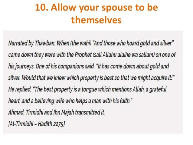 Islamic Tips About Jamah Of Husband Wife: 10 Tips To Spice Up The Husband And Wife Relationship In Islam