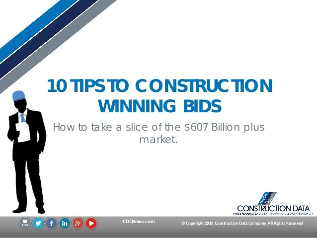 10 tips to winning construction bids