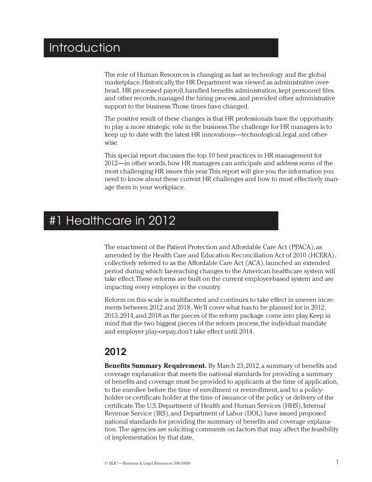 10 top hr practices for 2012. Black Bedroom Furniture Sets. Home Design Ideas