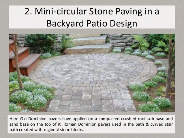10 Top Natural Paving Stones Ideas For Patio Designs In 2019