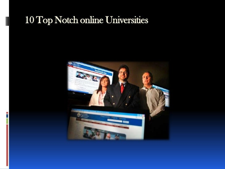 10 Top Notch online Universities