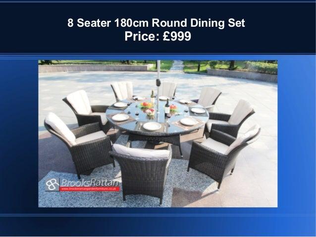 8 Seater 180cm Round Dining Set Price 999