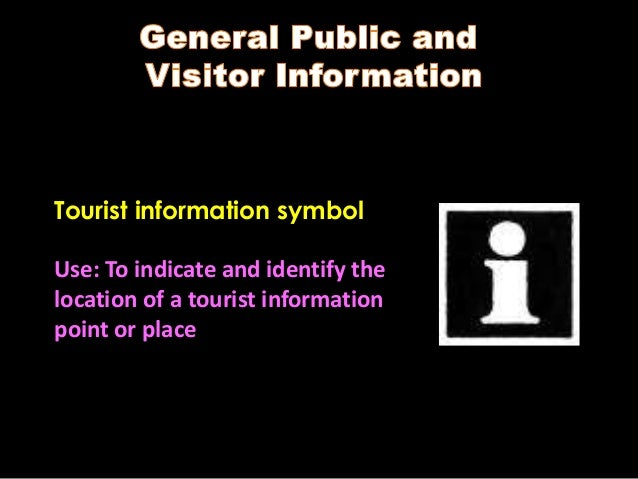 Tourism Signs And Symbols