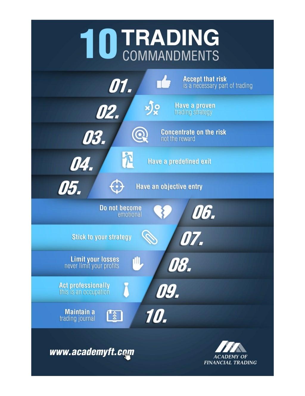 10 Trading Commandments