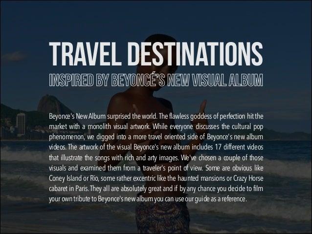 10 Travel Destinations Inspired by Beyoncé New Visual Album Slide 2