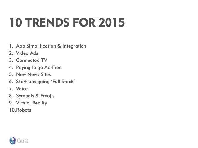 10 trends for 2015 Slide 3
