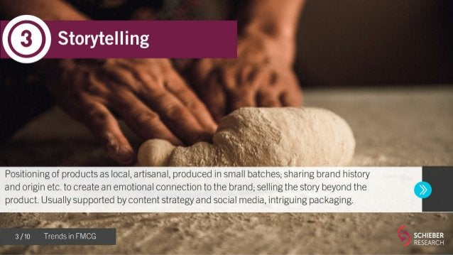 10 FMCG Trends for 2018