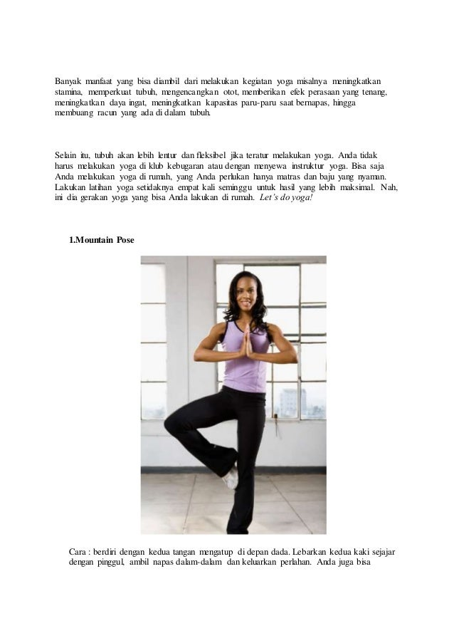 10 Tutorial Gerakan Yoga untuk Mengecilkan Perut