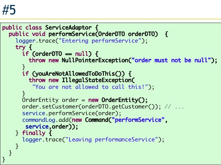 10 Typical Problems in Enterprise Java Applications
