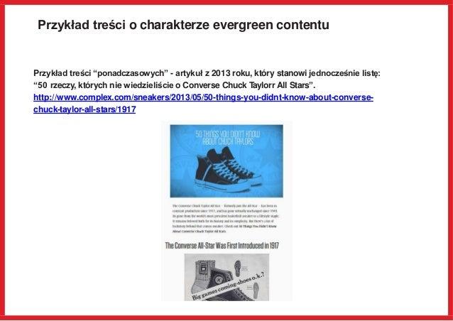 """Przykład treści o charakterze evergreen contentu Przykład treści """"ponadczasowych"""" - artykuł z 2013 roku, który stanowi jed..."""