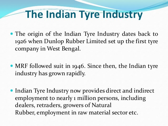 supply chain of tire industry The purpose of this document is to describe the supply chain that produces automobiles and light trucks  true whether it is the automotive industry, the personal computer industry, or the.