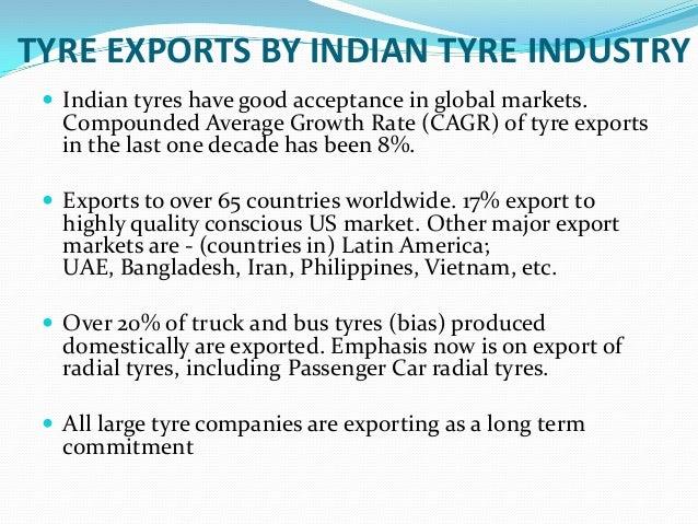 Tyre Industry Analysis
