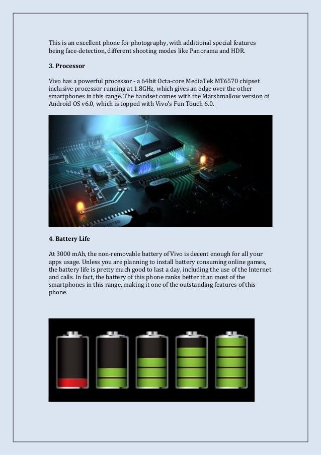 10 Unique Features of Vivo V5