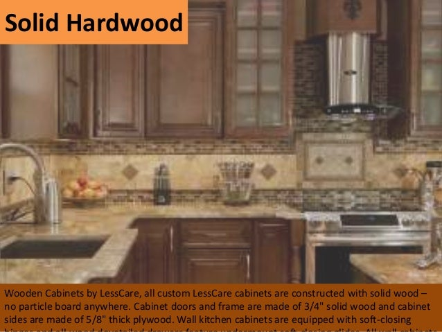 4. Solid Hardwood Wooden Cabinets ...