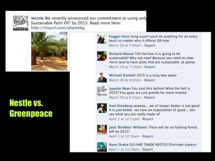 Nestle vs. Greenpeace<br />