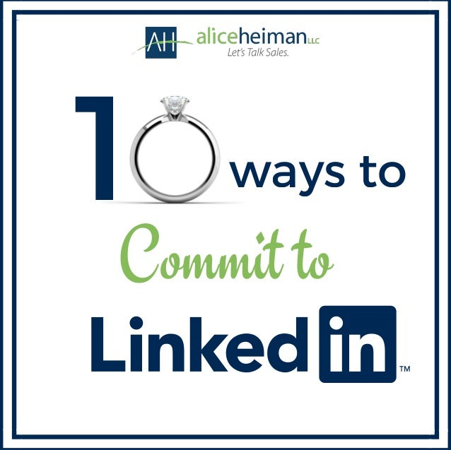 1 ways to Commit to