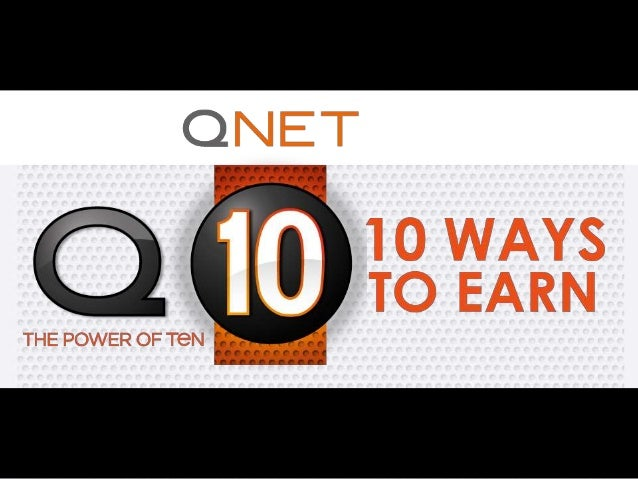 qnet business plan slideshare