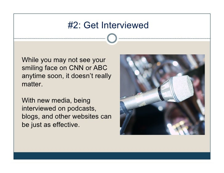10 Ways To Get Publicity For Your Resume Writing Business