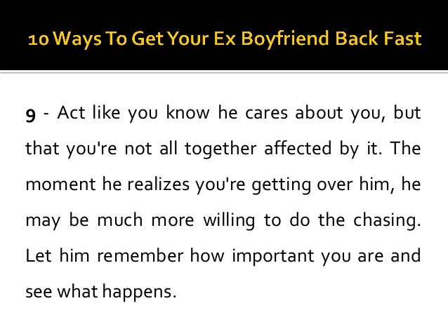 How To Get Over Your Ex Hookup Someone