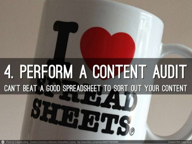 10 ways to improve your content
