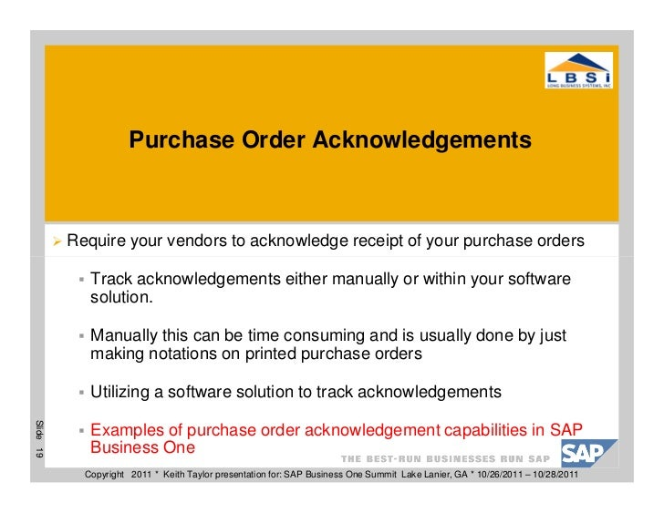 10 Ways To Improve Your Purchasing Department – Sample Local Purchase Order