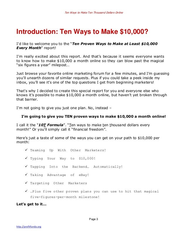 an introduction to how to turn six dollars into six thousand dollars The money making/ power seller guide hello everyone this guide is to inform you on the subject of making thousands of dollars per week, selling the right products.