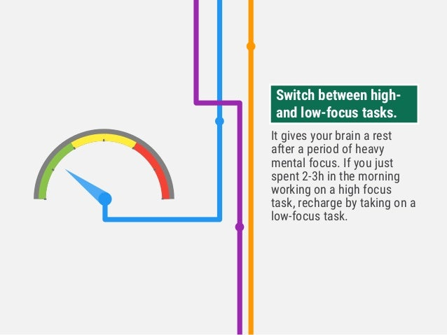 It gives your brain a rest after a period of heavy mental focus. If you just spent 2-3h in the morning working on a high f...