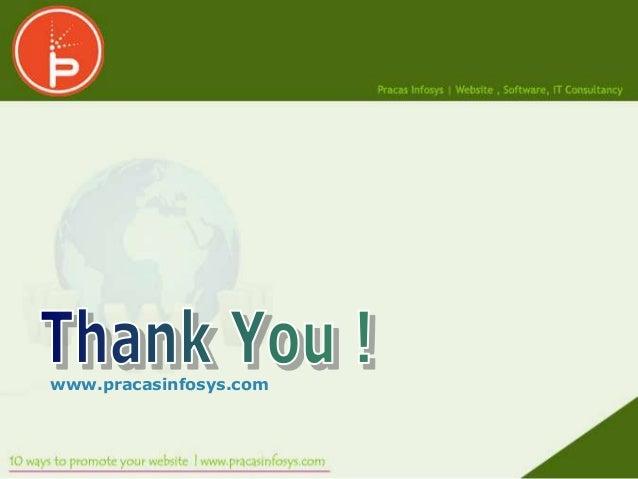 www.pracasinfosys.com