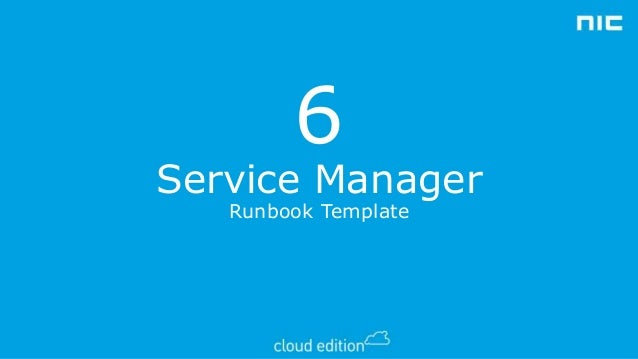 it runbook template - 10 ways to trigger runbooks from orchestrator
