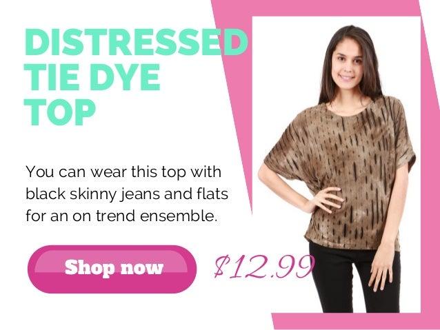 10+ women tops available under $20 - FemmeConnection Slide 3