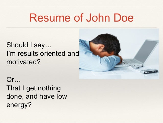 Resume ...  Words To Avoid On Resume