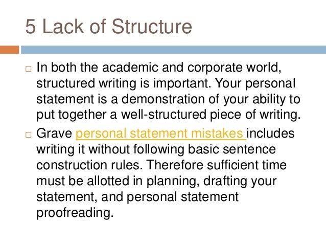 Personal statement purpose behind each rule essay