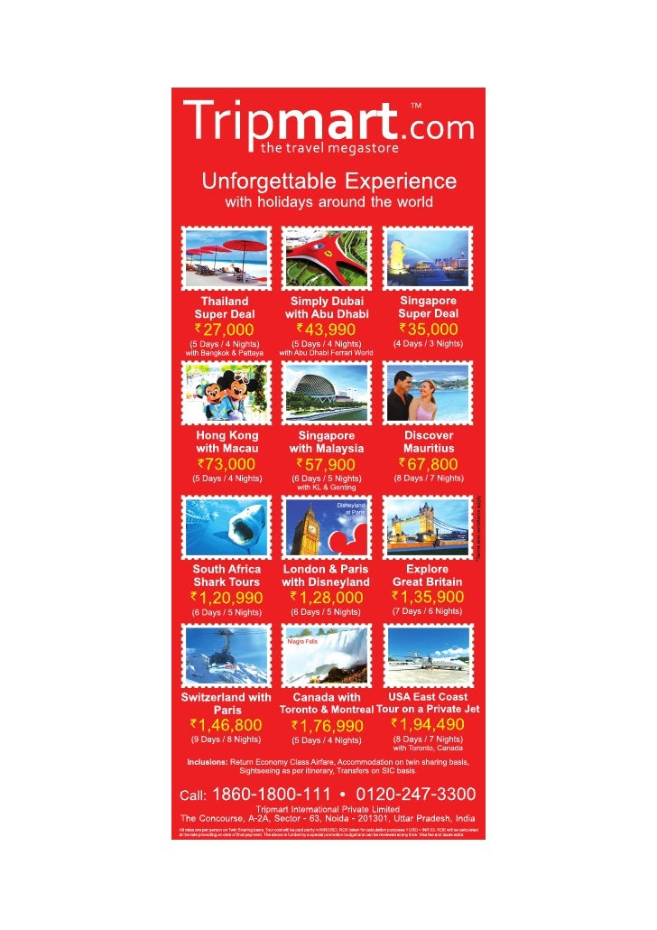 Tripmart.com Holiday packages