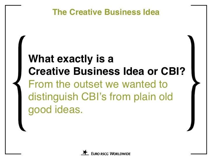 Creative Business Ideas: 10 Years of Euro RSCG Breakthrough Thinking Slide 3