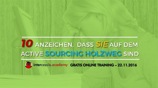 GRATIS ONLINE TRAINING – 22.11.2016