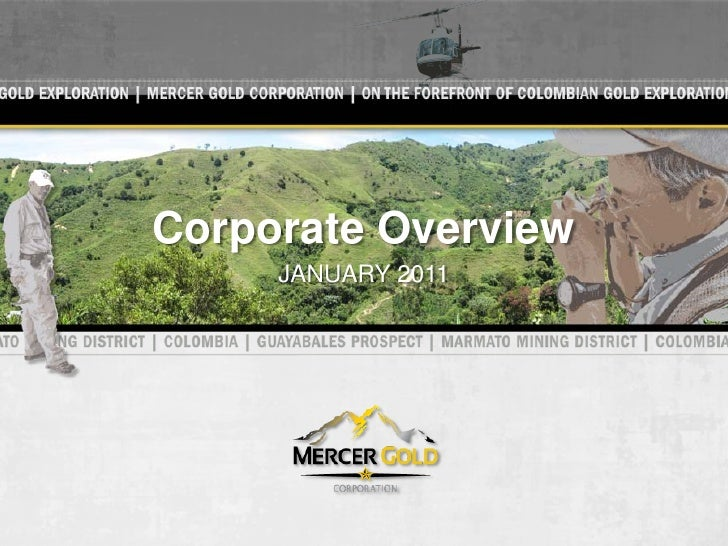 Corporate Overview     JANUARY 2011