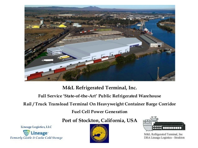 M&L Refrigerated Terminal, Inc.  Full Service 'State-of-the-Art' Public Refrigerated Warehouse  Rail / Truck Transload Ter...