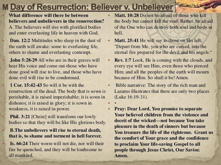 an essay on resurrection and the life everlasting God sent jesus, his son, to live the perfect life we could not and die the death  our sins deserve when we accept jesus' sacrifice, we claim eternal life in  christ's.