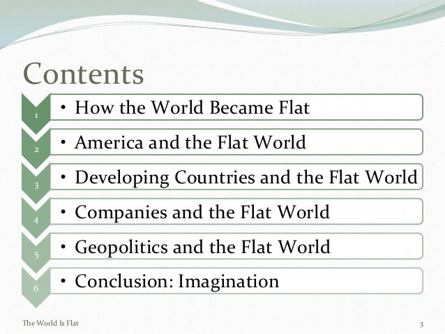 The World is Flat: Chapter 1,2