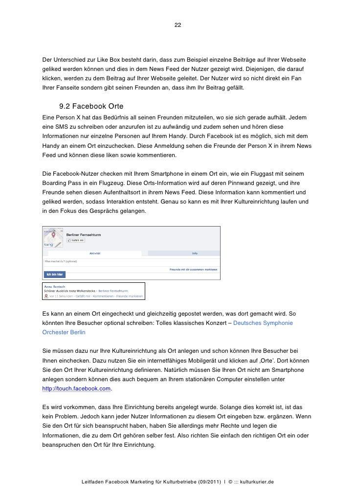 22Der Unterschied zur Like Box besteht darin, dass zum Beispiel einzelne Beiträge auf Ihrer Webseitegeliked werden können ...