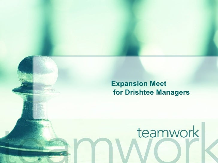 Expansion Meet for Drishtee Managers